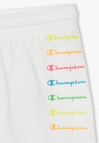 Champion - LEGACY AMERICAN CLASSICS FLUO  - Krótkie spodenki sportowe - white - 3