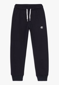 Champion - LEGACY BASICS CUFF PANTS - Trainingsbroek - dark blue - 0