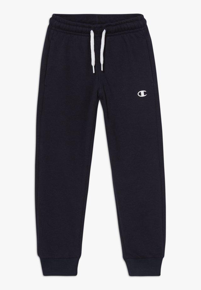 LEGACY BASICS CUFF PANTS - Tracksuit bottoms - dark blue