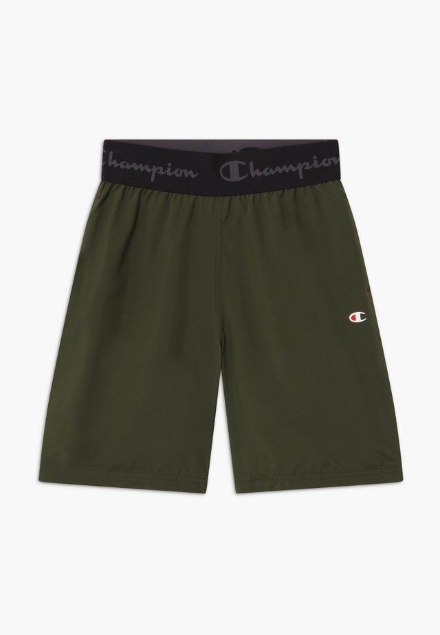 CHAMPION X ZALANDO BOYS PERFORMANCE SHORT - Sports shorts - dark green