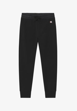 LEGACY BREAKING RULES RIB CUFF - Tracksuit bottoms - black