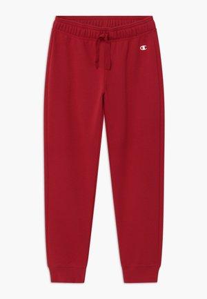 LEGACY AMERICAN CLASSICS RIB CUFF - Teplákové kalhoty - dark red