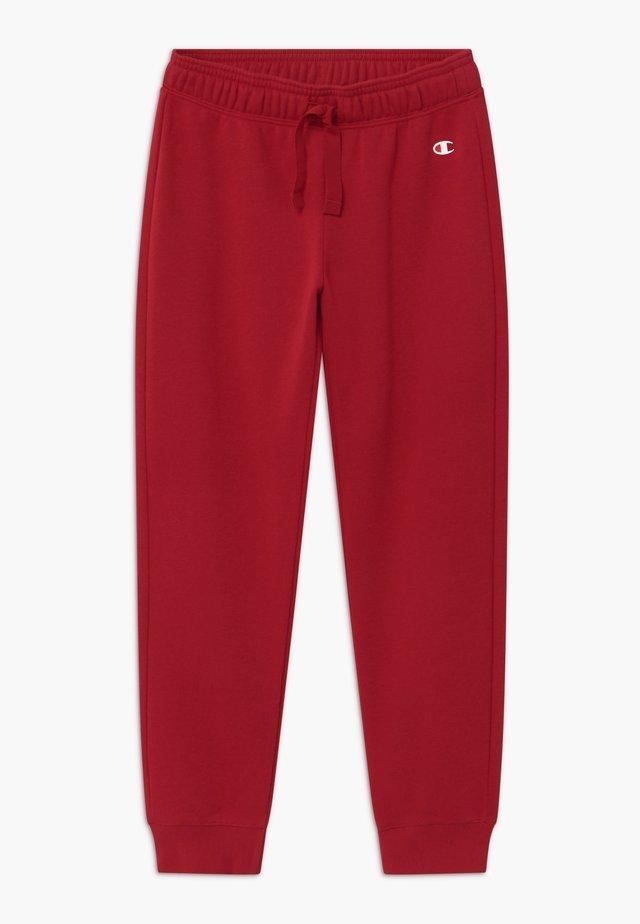 LEGACY AMERICAN CLASSICS RIB CUFF - Pantaloni sportivi - dark red