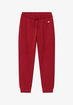 LEGACY AMERICAN CLASSICS RIB CUFF - Spodnie treningowe - dark red