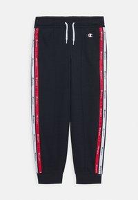 Champion - AMERICAN TAPE RIB CUFF PANTS - Pantalones deportivos - navy - 0