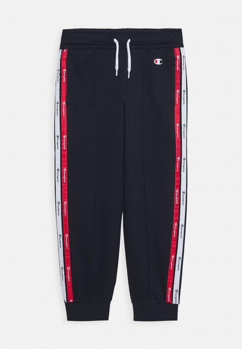 Champion - AMERICAN TAPE RIB CUFF PANTS - Pantalones deportivos - navy