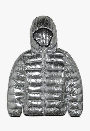 OUTDOOR HOODED JACKET - Winterjacke - silver