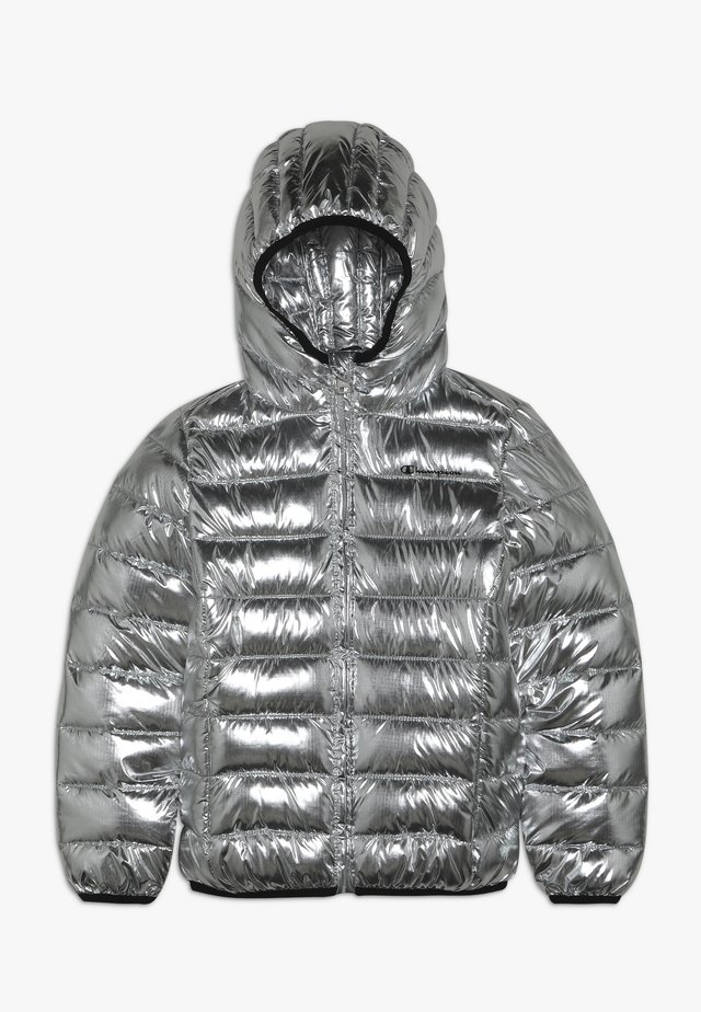 OUTDOOR HOODED JACKET - Vinterjakke - silver