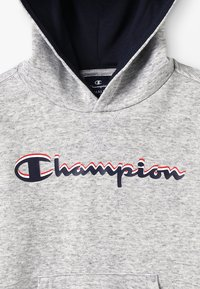 Champion - AMERICAN CLASSICS HOODED  - Hættetrøjer - MOTTLED GREY - 2