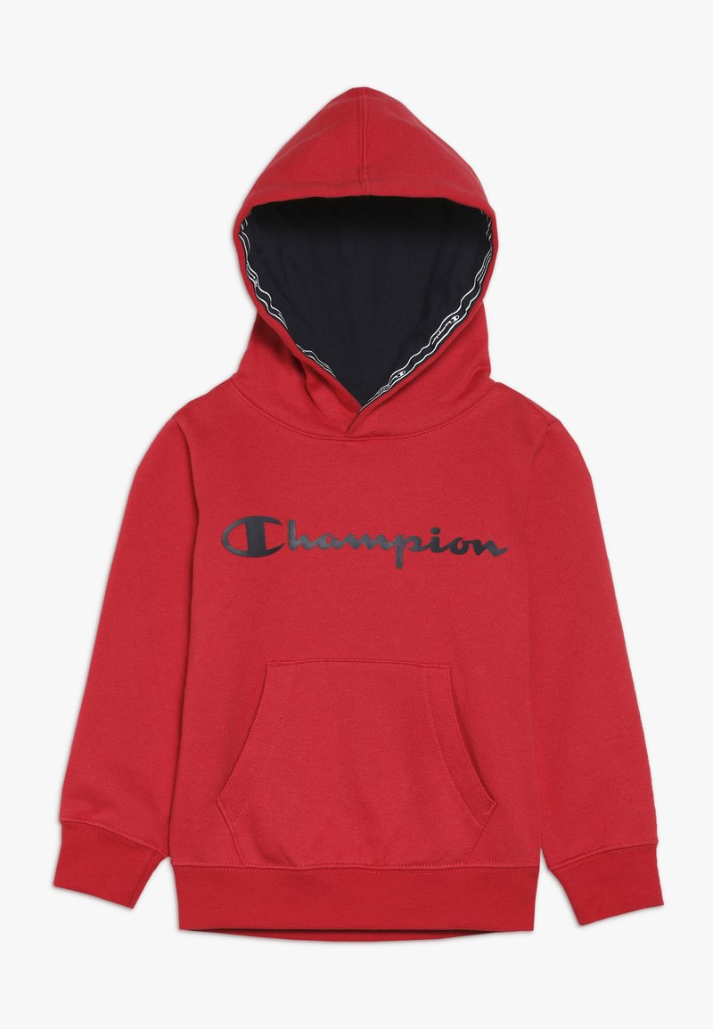 Champion - AMERICAN CLASSICS HOODED  - Hoodie - scarlet/navy