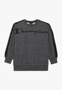Champion - AMERICAN CLASSICS CREWNECK - Sweater - mottled dark grey - 0