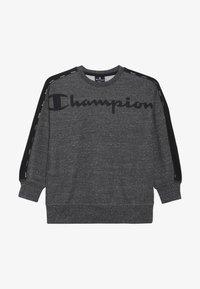 Champion - AMERICAN CLASSICS CREWNECK - Sweater - mottled dark grey - 2