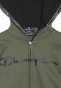 Champion - AMERICAN CLASSICS HOODED FULL ZIP - Mikina na zip - khaki - 4