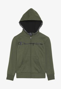 Champion - AMERICAN CLASSICS HOODED FULL ZIP - Mikina na zip - khaki - 3