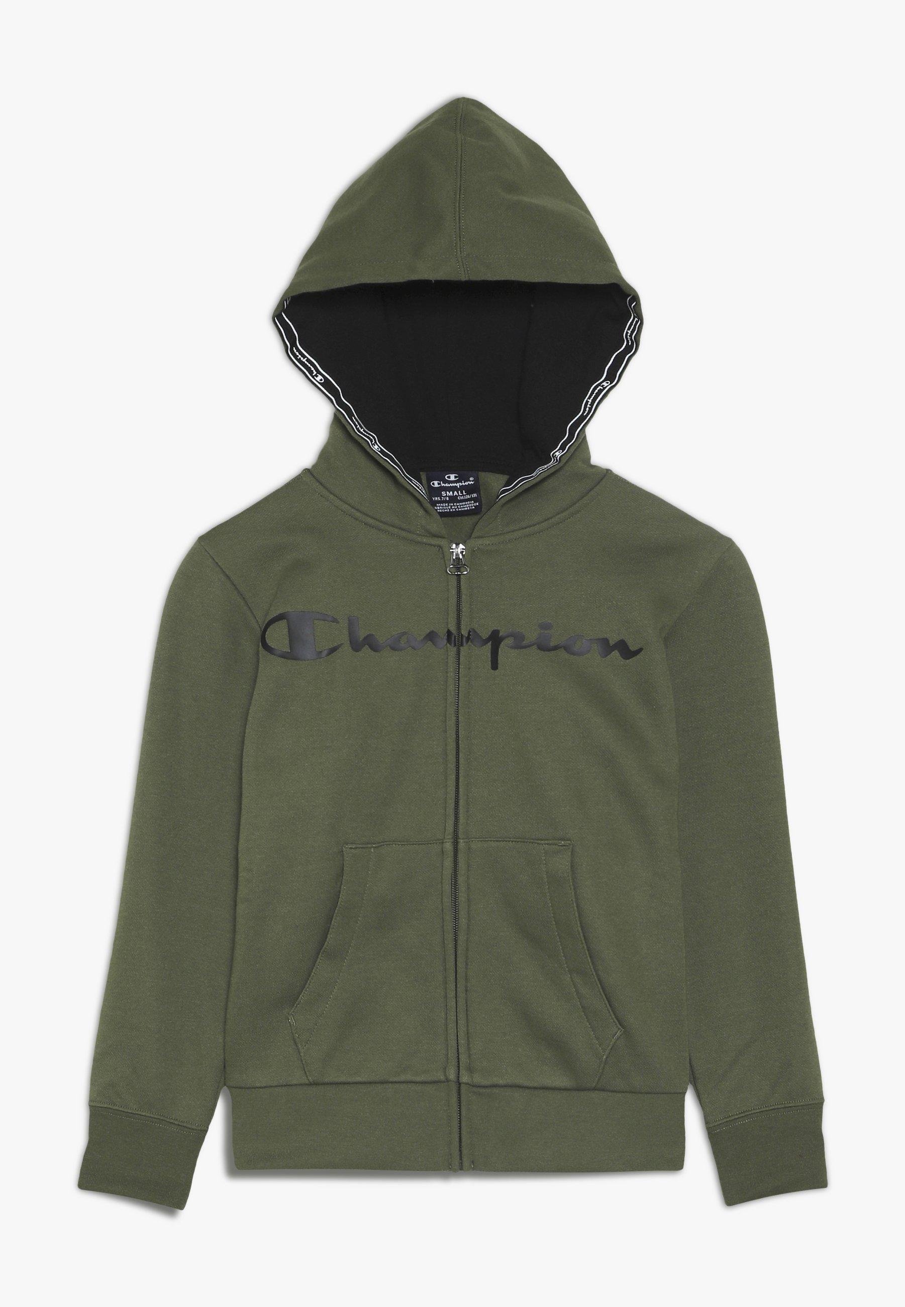 Champion HOODED FULL ZIP veste en sweat zippée mottled