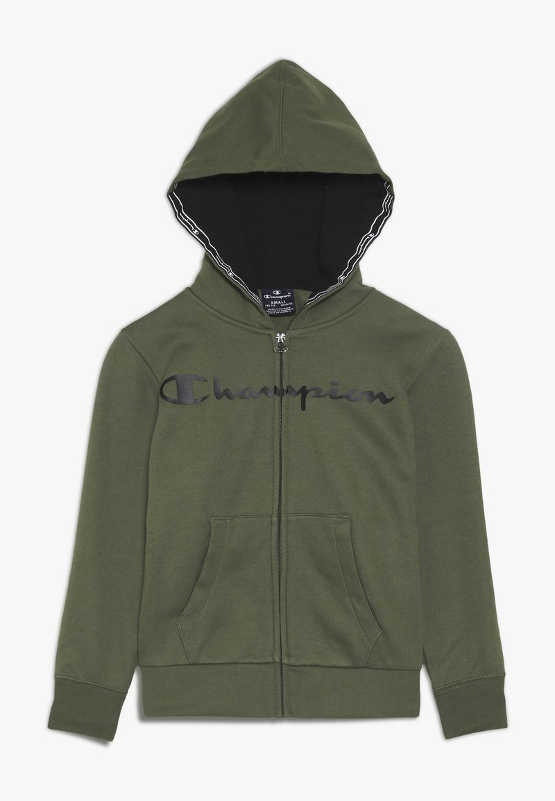 Champion - AMERICAN CLASSICS HOODED FULL ZIP - Mikina na zip - khaki