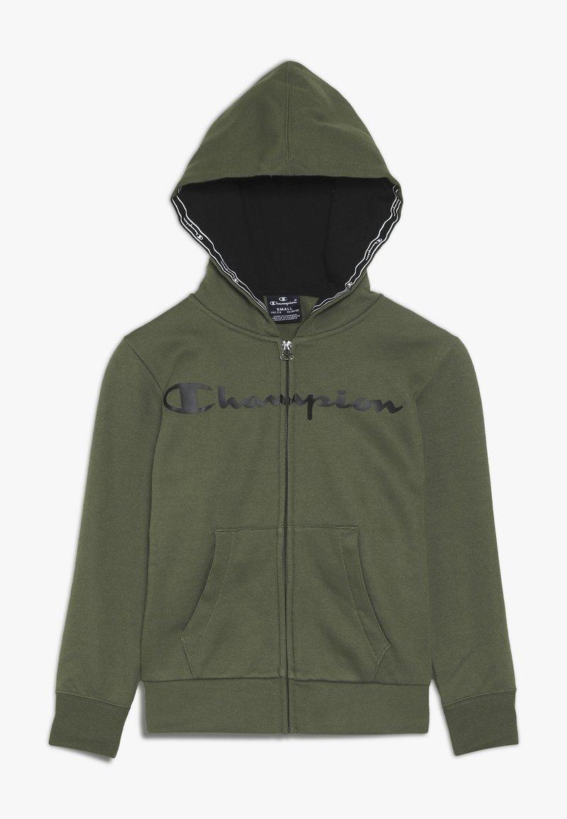 Champion - AMERICAN CLASSICS HOODED FULL ZIP - Zip-up hoodie - khaki