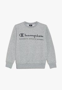 Champion - AMERICAN CLASSICS CREWNECK  - Sweater - grey melange/navy - 0