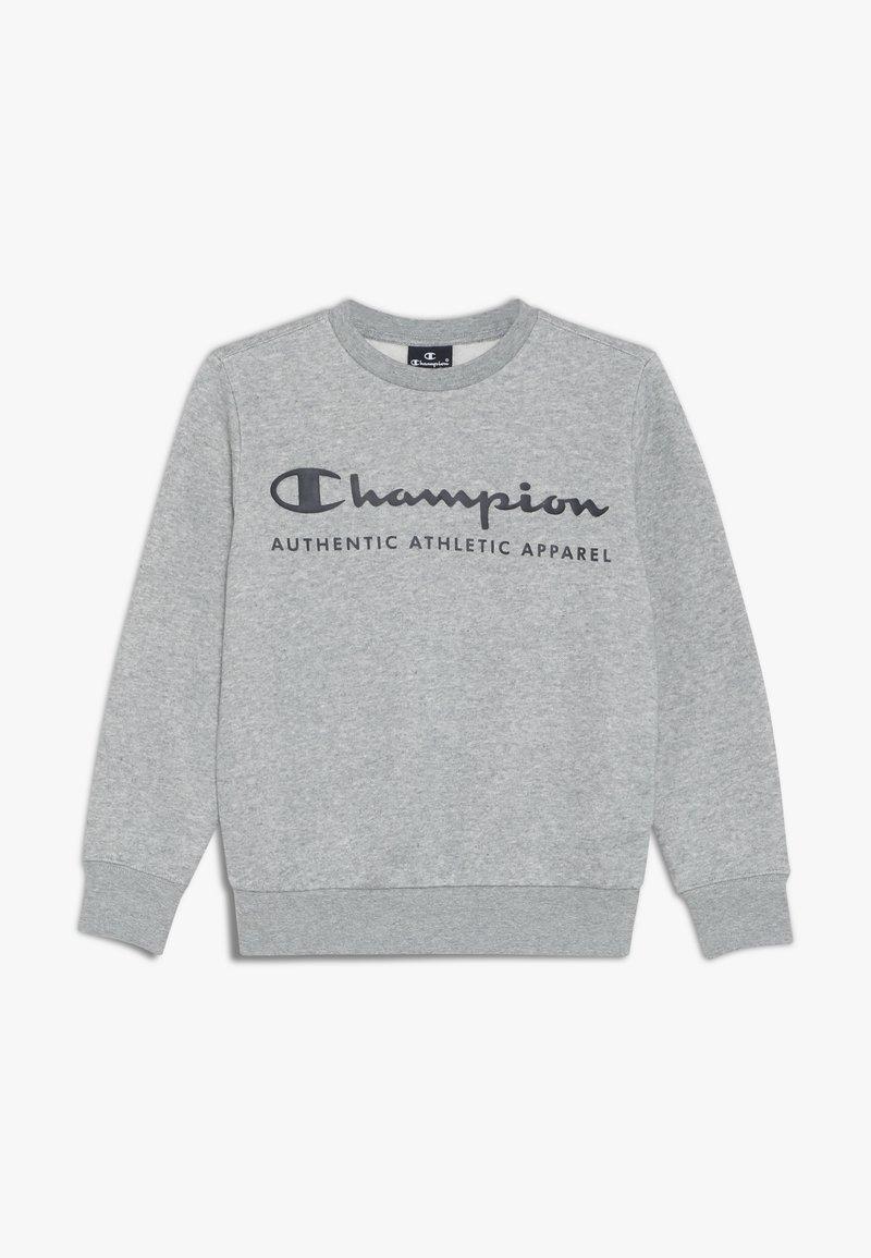 Champion - AMERICAN CLASSICS CREWNECK  - Mikina - grey melange/navy