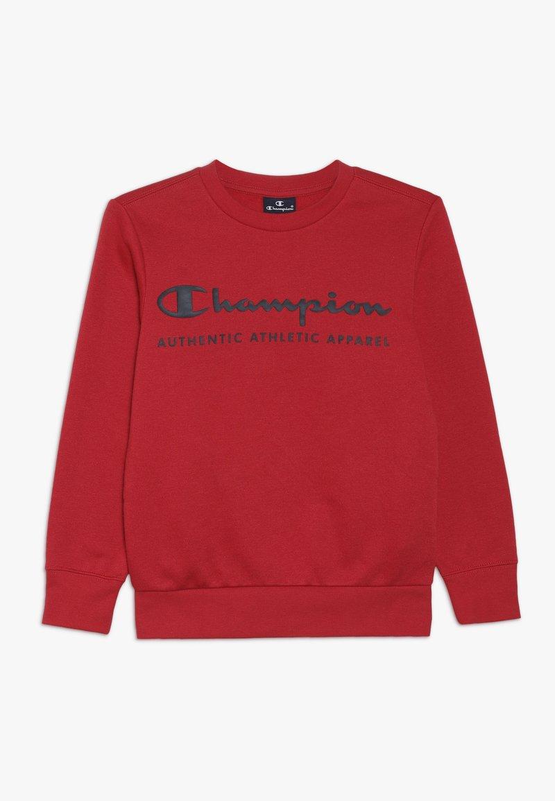 Champion - AMERICAN CLASSICS CREWNECK  - Sweater - red/navy