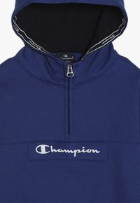 Champion - AMERICAN CLASSICS HALF ZIP HOODED - Hoodie - royal blue - 4