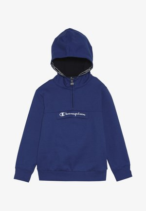 AMERICAN CLASSICS HALF ZIP HOODED - Mikina s kapucí - royal blue