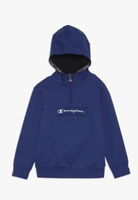 Champion - AMERICAN CLASSICS HALF ZIP HOODED - Hoodie - royal blue - 0