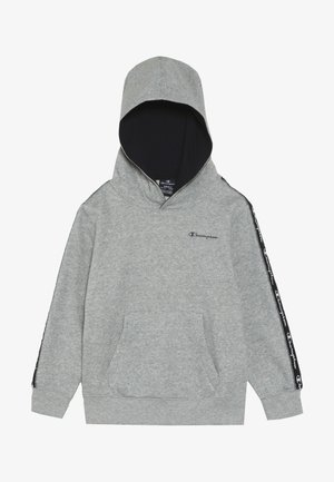 AMERICAN CLASSICS PIPING HOODED  - Hoodie - mottled grey