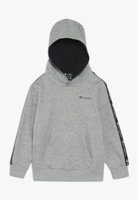 Champion - AMERICAN CLASSICS PIPING HOODED  - Bluza z kapturem - mottled grey - 0