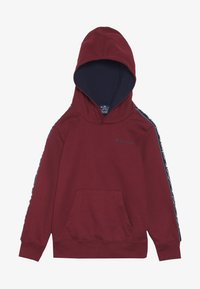 Champion - AMERICAN CLASSICS PIPING HOODED  - Hoodie - red/navy - 3