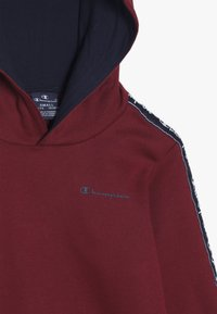 Champion - AMERICAN CLASSICS PIPING HOODED  - Hoodie - red/navy - 4
