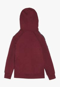 Champion - AMERICAN CLASSICS PIPING HOODED  - Huppari - red/navy - 1
