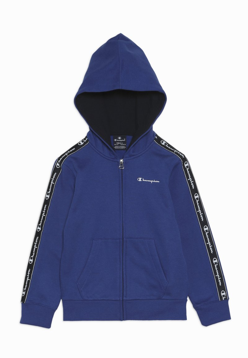 Champion - AMERICAN CLASSICS PIPING HOODED FULL ZIP - Mikina na zip - royal blue