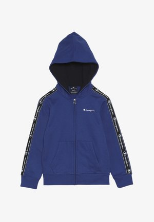 AMERICAN CLASSICS PIPING HOODED FULL ZIP - Mikina na zip - royal blue