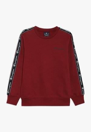 AMERICAN CLASSICS PIPING CREWNECK  - Collegepaita - bordeaux
