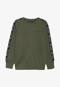 Champion - AMERICAN CLASSICS PIPING CREWNECK  - Sweatshirt - khaki - 2