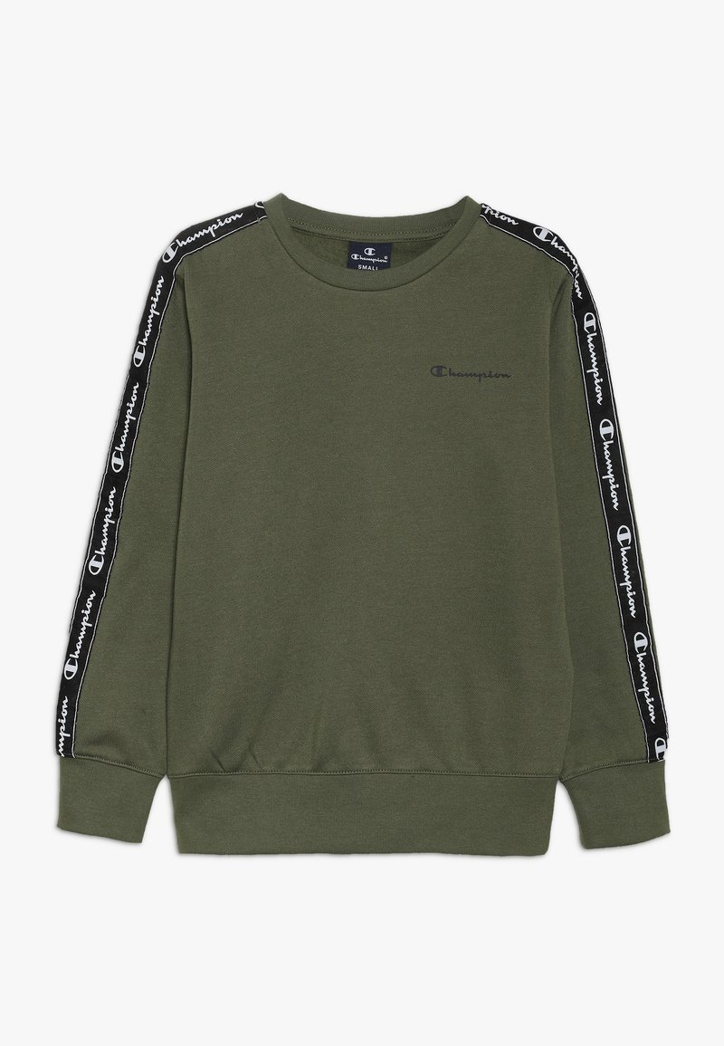Champion - AMERICAN CLASSICS PIPING CREWNECK  - Sweatshirt - khaki