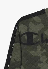 Champion - AMERICAN CLASSICS MAXI LOGO CREWNECK - Sweatshirt - multi-coloured/khaki - 2