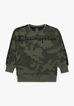 AMERICAN CLASSICS MAXI LOGO CREWNECK - Sweater - multi-coloured/khaki