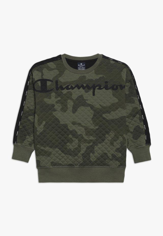 AMERICAN CLASSICS MAXI LOGO CREWNECK - Sweatshirt - multi-coloured/khaki