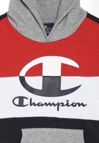 Champion - COLOR HOODED  - Luvtröja - dark blue/red - 4