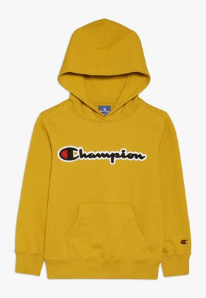 ROCHESTER LOGO HOODED - Luvtröja - mustard yellow
