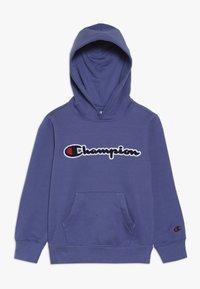 Champion - ROCHESTER LOGO HOODED - Felpa con cappuccio - blue - 0