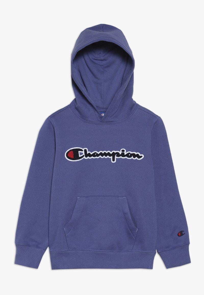 Champion - ROCHESTER LOGO HOODED - Felpa con cappuccio - blue
