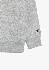 Champion - ROCHESTER LOGO HALF ZIP - Sweatshirt - mottled grey - 4