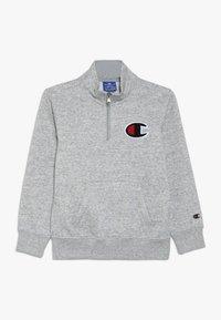 Champion - ROCHESTER LOGO HALF ZIP - Sweatshirt - mottled grey - 0