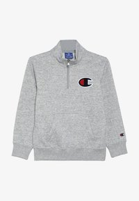 Champion - ROCHESTER LOGO HALF ZIP - Sweatshirt - mottled grey - 3
