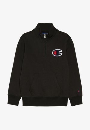 ROCHESTER LOGO HALF ZIP - Sweatshirt - black