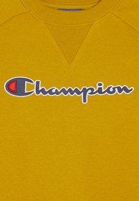 Champion - ROCHESTER LOGO CREWNECK - Collegepaita - mustard yellow - 2