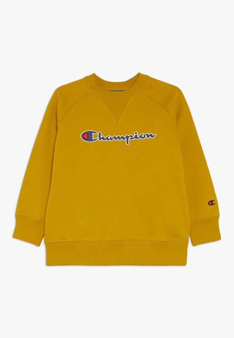 Champion - ROCHESTER LOGO CREWNECK - Sweatshirt - mustard yellow